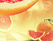 Dancing Food - Grapefruit