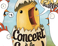 Concert à la ferme !