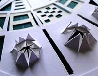 Explosive mechanism-Paper Art miniature