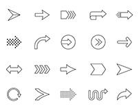 20 Arrow Vector Icons