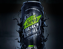 Mountain Dew - Black Label - CGI
