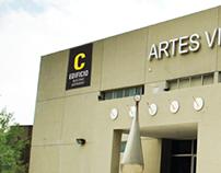 Señalética Facultad de Artes Visuales