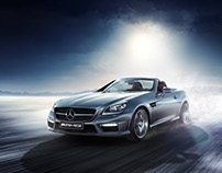 Mercedes-Benz SLK 55 AMG CGI