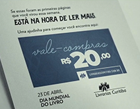 Ação Menu - Livrarias Curitiba