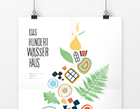 Fictive poster for the Hundertwasserhaus in Vienna