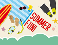 Summer Fun: Beach Vector Set