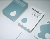 Logo Design and Stationery for Waterservice.be
