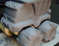 Unpainted Gray Models - Toys