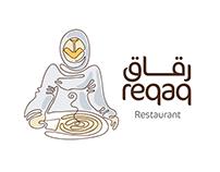 One line logo 'Reqaq'