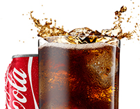 Coke splash