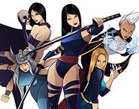 X girls!