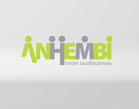 Anhembi Hostel & Business logo animation