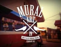 MURAL ART di SDN 05 06 07 pondok pinang