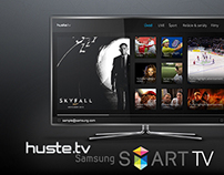 huste.tv | Samsung SMART TV app