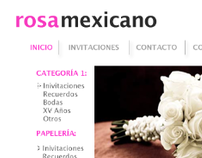 Rosa Mexicano Web Proposal