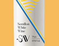 SAV Wines Packaging