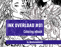 [Free Coloring eBook] InkOverload #01