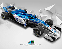 Re:Imagined - Tyrrell Yamaha 023 Livery