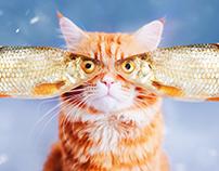 Cutlet cat