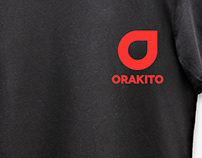 Orakito Online Tech Shop Brand Identity