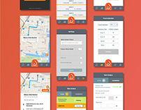 UI,UX | Mobile App Design | Manage Petro