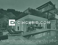 Cinchbid.com Logo - A real estate company