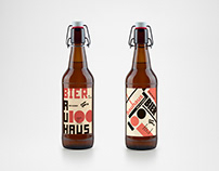Beer label BAUHAUS