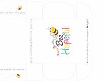 Bee Hopeful corrugated box