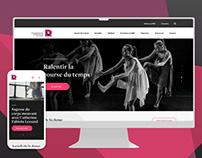 Regroupement québécois de la danse • Refonte web