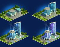 Строения для игры 11х11 2