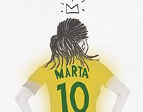Marta, mil vezes Marta.