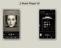 Music Player for Android UI