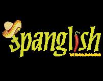 Spanglish Restaurant: Menu Concept & Design