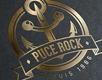 PUCE ROCK LOGO
