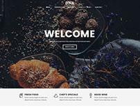 Dina – Restaurant, Bar, Cafe, Food HTML Template