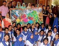 'W-11 COLLAGE OF JOY'  at Bint-e-Fatima OLD HOME