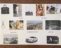 Fashion Design : Mood board, Sketches