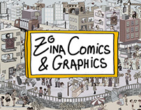 Zina Comics - Comic Strips