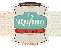 RUFINO JOSÉ CUERVO, cien años