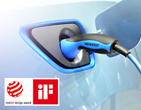 Home Charging for E-Mobility / Designed by KISKA
