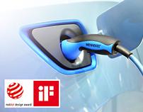 Home Charging for E-Mobility / Designed by KISKA