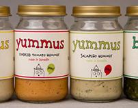 'Love Owls' Yummus & Besto packaging