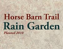 Horsebarn Trail Rain Garden