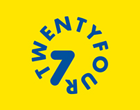 Twentyfour Seven - identity and branding