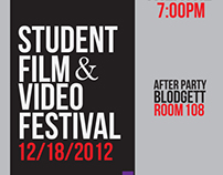 Student Film& Video Festival