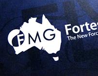 Fortescue Logo Refresh and Visual Brand Identity Design