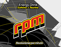 rpm. energy drink pack