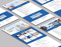 CaF - landing page & branding