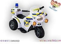 دراجة اطفال شرطة كهربائية