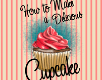 """Angel """"How to Make a Delicious Cupcake"""""""